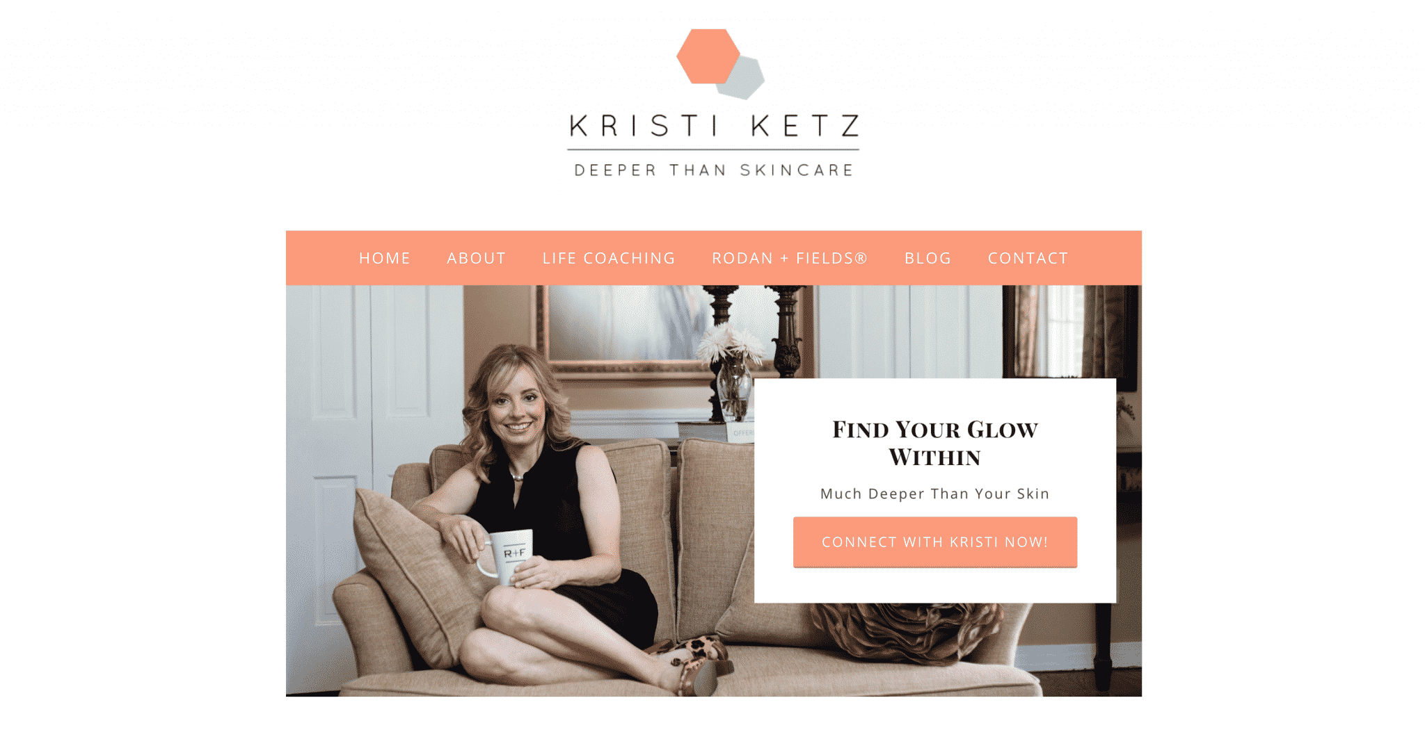New Web Design Launch Deeper Than Skincare Kristi Ketz The Wp Stylist