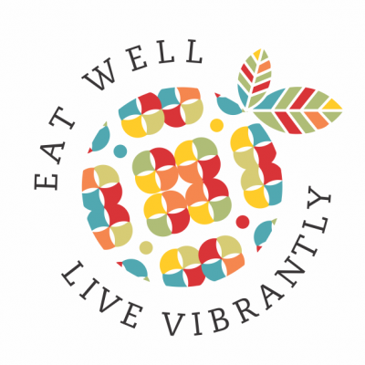 Eat Well, Live Vibrantly Logo The Wp Stylist - Wordpress Web Design Services