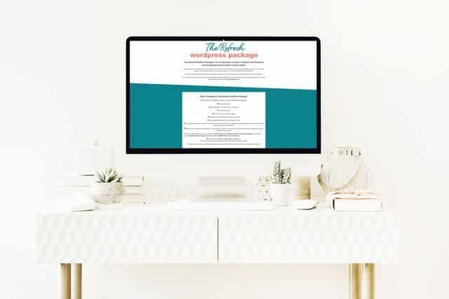 business website refresh package WP Stylist